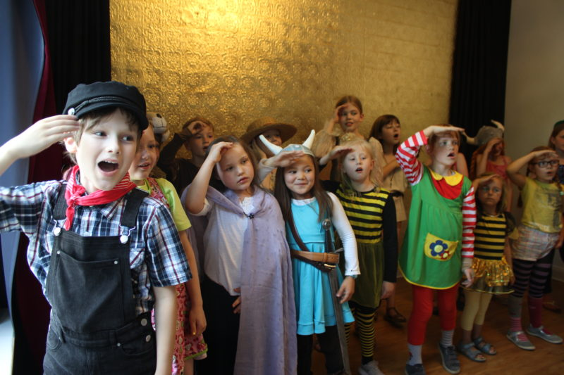 Kinder Chor in Bergedorf